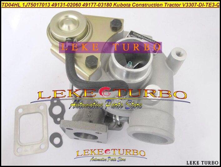 TD04HL 49131-02060 1J750-17013 49177-03180 Turbo For Kubota Construction Various Industrial Tractor Earth Moving V3307-DI-TE3-Q