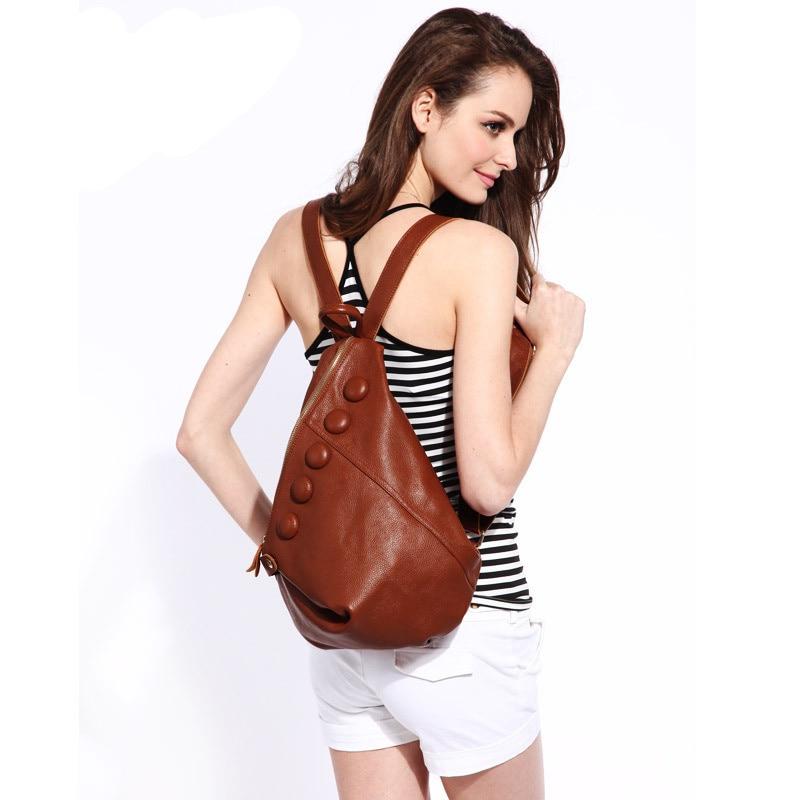 2018 Nový design ženy batoh originální kožený batoh ženské mini ramenní tašky ležérní satchel pro dívky ženy narozeninové dárky
