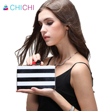 CHICHI Mini Women Evening Bags 2016 Black font b Clutch b font Bag Wedding Bags And