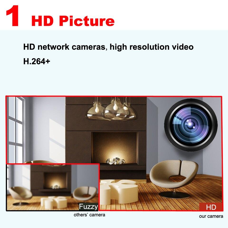 ᓂHome security luar tahan air 720 P 960 P IP Kamera Night Vision ... 474dc5f05f