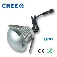 10pcs CREE Led 3W Wall Lighting Recessed Led Stair Light Step Lamp Stairway Lamps Warm Cool