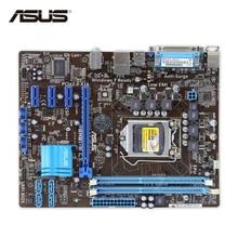 ASUS P8H61-M LX оригинальный использоваться для настольных ПК H61 разъем LGA 1155 i3 i5 i7 DDR3 16 г uatx распродажа