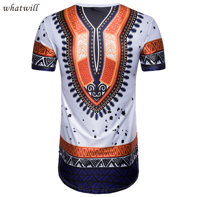 New 2018 fashion mens african  tops