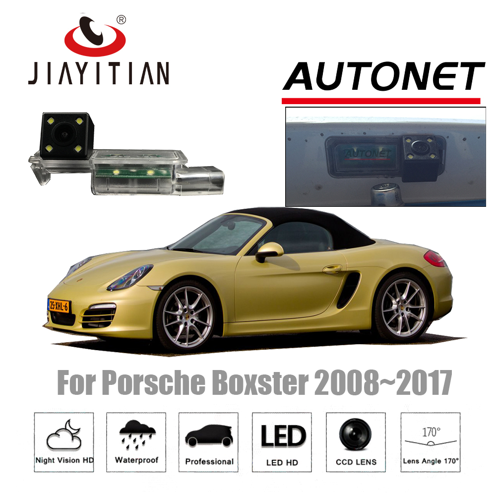 JiaYiTian Rear View Camera For Porsche Boxster 987 981 2008~2017 Ccd Night Vision/License Plate Camera Reverse Camera