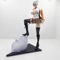 25cm sexy figure Anime Prison School Meiko Shiraki Sexy Action Figures PVC Collection Model toys brinquedos Gift
