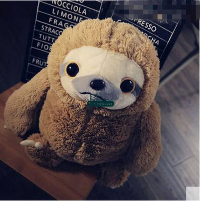 Online Shop Dorimytrader New Cute 70cm Big Soft Animal Sloth Plush