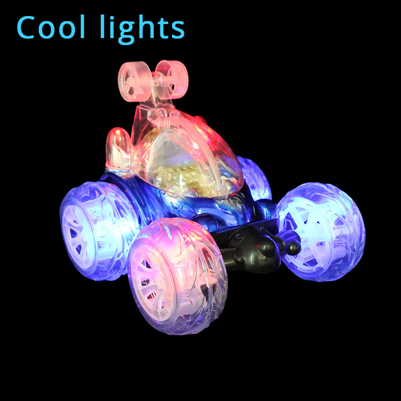 Remote Control RC Car Cool Flashing Light Sound Stunt 360 Turbo Twister Cars Machine On The Remote Control Car Toys Gift Kids