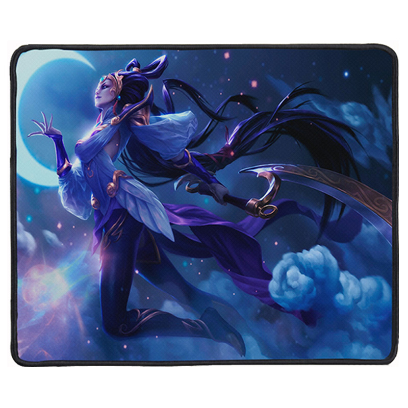 New Large Gaming Mouse Pad Locking Edge Mouse Mat Speed Version Mousepad Mice Mat for Lol CS Dota2 Pro Gamer or Office