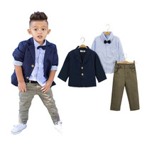 2018 Formal Suits Boys Clothes European American Style Kid S Children Clothing Sets For Wedding Blazer