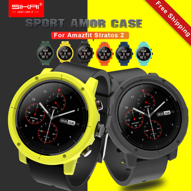 SIKAI PC Watch Case For Huami Amazfit Stratos 2 Watch Accessories Protective Wat