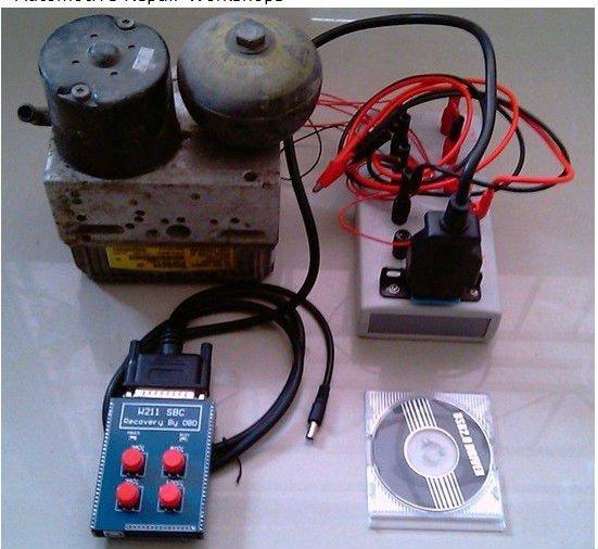 US $30 0 |W211/R230 ABS/SBC TOOL (Repair Code C249F) SBC reset tool for  Mercedes for Benz-in Air Bag Scan Tools & Simulators from Automobiles &