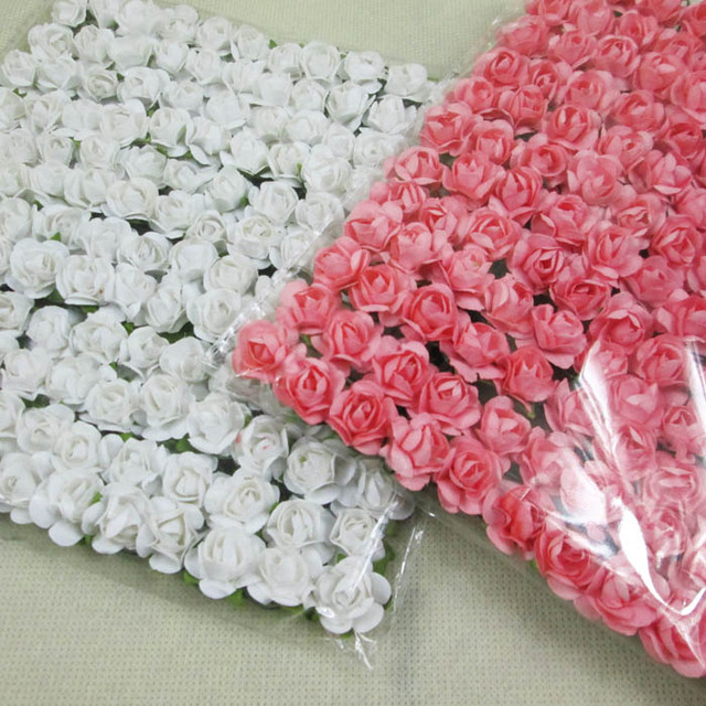 Good quality whitepeach color mini paper flowers real pic show good quality whitepeach color mini paper flowers real pic show mulberry paper flower for mightylinksfo