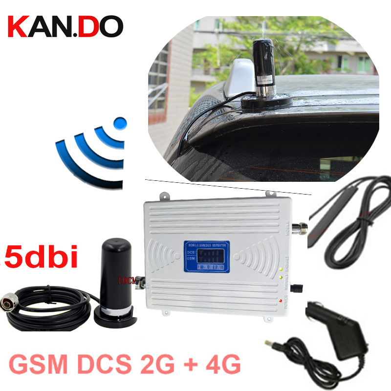 for car use band 3 4G dual band 2g 4g booster GSM 900Mhz Booster+dcs 1800Mhz RepeateR repeater 2G 4G repeater gsm DCS repeater