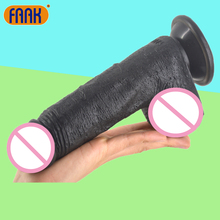 FAAK Thick Big Dildo Suction Cup Realistic Dildo Sex Toys For Women Artificial Penis Clear Veins Big Dick Erotic Product