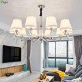 Современные хрустальные светодиодные люстры  хромированное металлическое освещение для гостиной  светодиодные подвесные люстры  светильн...