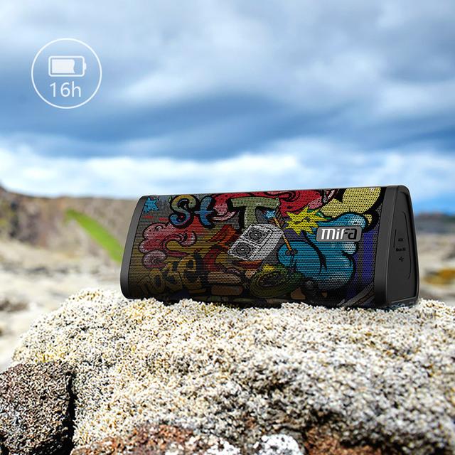 Altavoz portátil inalámbrico con micrófono Graffiti Design