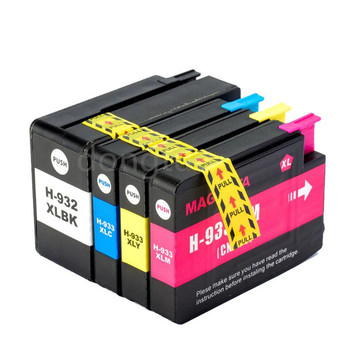 Compatible Ink Cartridges for HP 932 933 For HP 932XL 933XL Officejet Pro 6100 6600 6700 7110 7610 7612 Printers For HP932