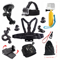 For Gopro Accessories Hero 4 5 Car suction cup Float stick Chest Mount strap SJCAM SJ4000 SJ5000 SJ5000X Gopro Action Camera 48