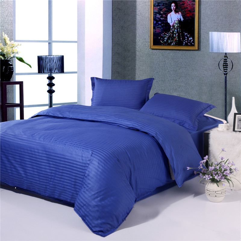 Singl Duvet Cover 100% Cotton Satin Printed Bedding Only Case Bedclothes Queen King Double Size Quilt/Comforter Cover /Cases