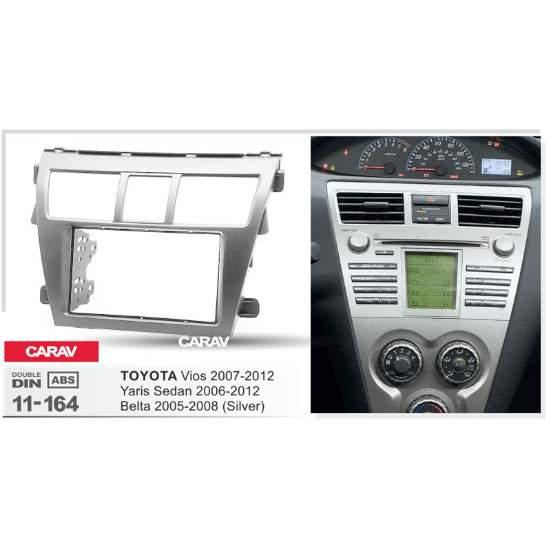 Radio Fascia For Toyota Vios Belta Yaris Sedan Double Din Dvd Rhaliexpress: 2007 Toyota Yaris Dash Radio At Gmaili.net