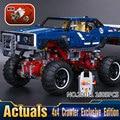 2016 Nueva LEPIN 20011 1605 Unids SUV 4x4 Crawler Edición Exclusiva Técnica Kits de Edificio Modelo Bloques Ladrillos Niños de juguete de Regalo 41999