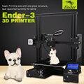 2018 nuevo Ender-3 3D DIY Kit de impresora de ranura en V prusa I3 actualización reanudar energía Ender-3X gran tamaño de impresión 220*220*250 Creality 3D