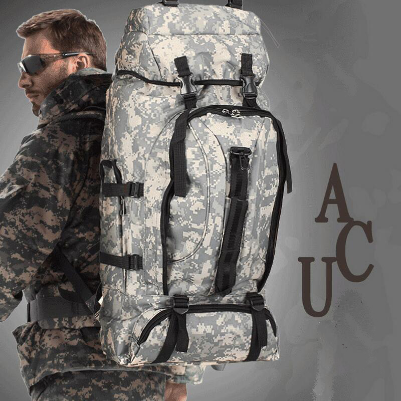Hunting Hiking Backpacks Sport Tactical Bag Military Backpack Outdoor Camping Fishing Mountaineering Backpack 70L Travel Bags