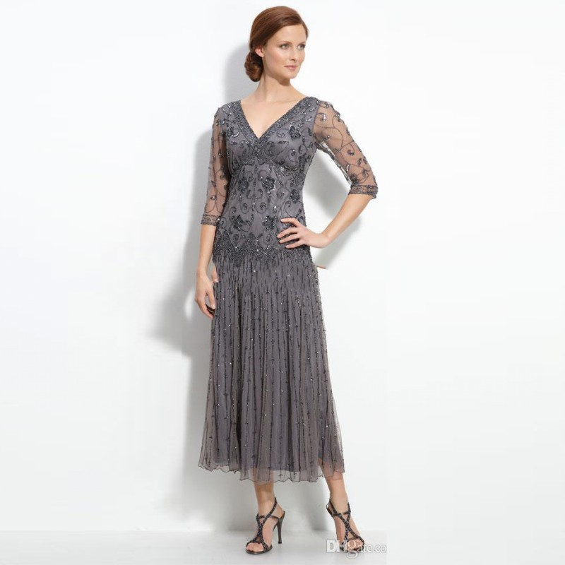 Popular Modest Mother of The Bride Dresses with Sleeves-Buy Cheap ...