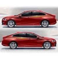 World Datong car styling sport car sticker For Chevrolet Malibu Cruze Aveo Captiva side body sport auto stickers