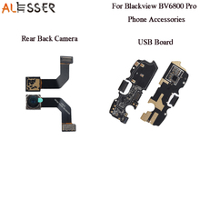 Alesser Blackview BV6800 프로 USB 충전 보드 100% 새로운 어셈블리 Blackview BV6800 프로 전화 후면 카메라 재고 있음