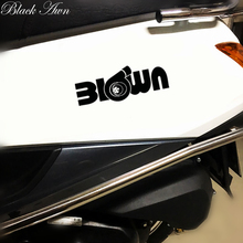 цена на Turbo blown boost sticker Funny JDM Drift lowered car window racing decal D053
