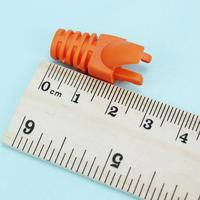 50 шт пластиковые сети rj45 кабель концы вилки разъема крышка протектор сапоги крышка cat5 cat6 безопасности