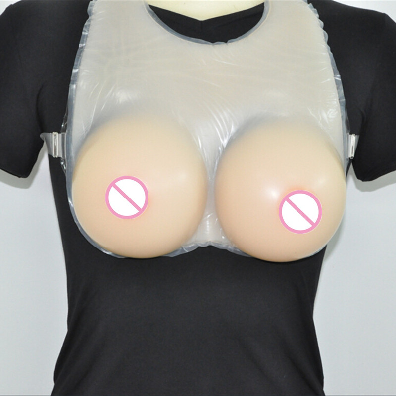 Topleeve 1600g/pair Sz 42 44 Strap On Silicone False Breast Full Fake Boob Forms Enhancers Cross DresserTopleeve 1600g/pair Sz 42 44 Strap On Silicone False Breast Full Fake Boob Forms Enhancers Cross Dresser