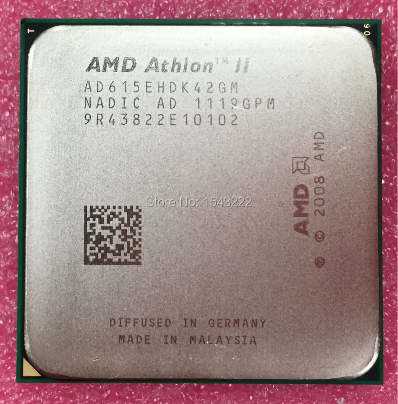 AMD Athlon X4 615E 2.5GHz Quad-Core CPU Processor AD615EHDK42GM 45W Socket AM3 938pin