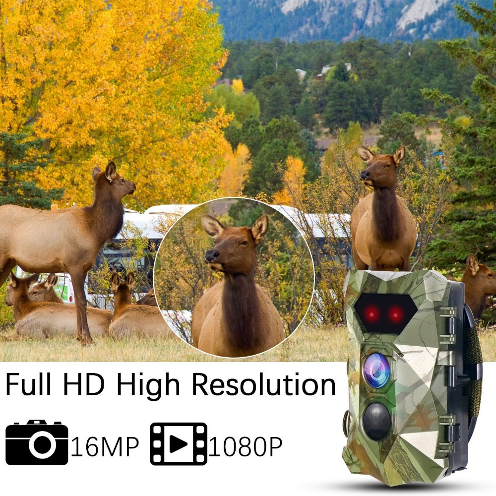 Foto Traps Trail Camera H903 12MP 1080P Night Vision Scout Guard Hunter Cameras Photo Traps Chasse Hunting Cameras For Game Hunting WildCams (16)