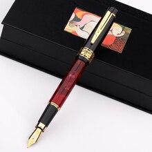بيكاسو ps 915 المشاعر الأوروبية سيمفونية PS915 إيريديوم قلم حبر تسجيل قلم هدية صندوق الفيروز الرخام الأسود روبي الأحمر