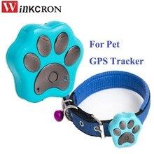 HOT GPS tracker mini for pet V30 waterproof 2G GSM GPRS Anti - Lost animal GPS tracker SOS alarm intelligent GPS tracker