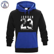 f8a13491ca4 New Fashion JORDAN 23 Contrast color Hoodies Sweatshirt Men Women Hip Hop  Hoodie Men Casual