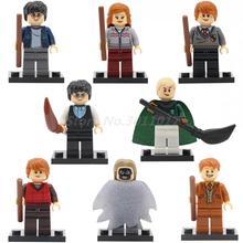 POGO Harry Potter Space War Ron Weasley Blocks Model Educational Building Bricks Kits 8Pcs Lot Best