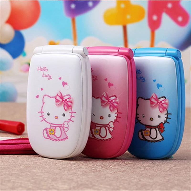 15 w88 flip ukraine french spanish unlocked small kids girls lady cute hello kitty cartoon - Small Kids Picture