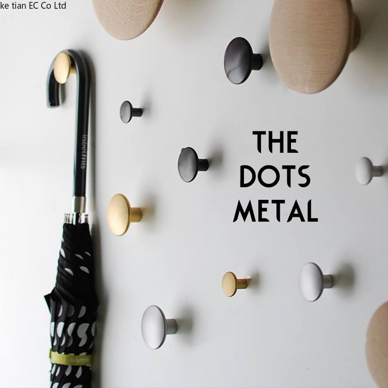 Gancho de latón, manija de metal simple nórdico, ganchos decorativos para colgar en la pared, ganchos para colgar en la pared, gancho simple suave, cobre puro para sala de estar|Ganchos y rieles|   -
