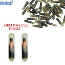 Чип для автомобильных ключей OkeyTech, 10 шт./лот, чистый чип OEM ID48, чип для автоматического транспондера, чип для чипа со стеклянным ID 48, чип разблокировки для V W Seat Skoda для Audi