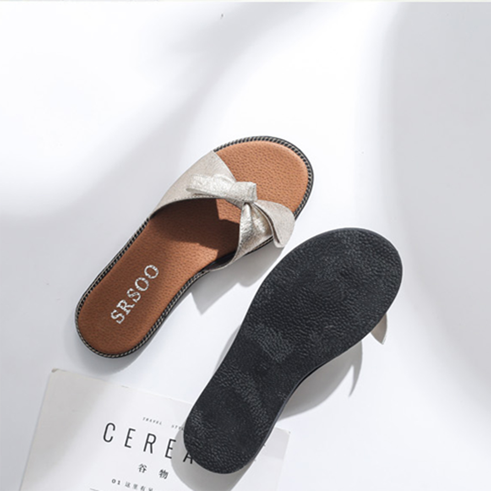 Sweet All-Match Slide with Metal Female Slippers store cheap price nLNuec