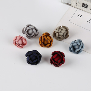20 PCS 3CM Cloth Flowers Conne