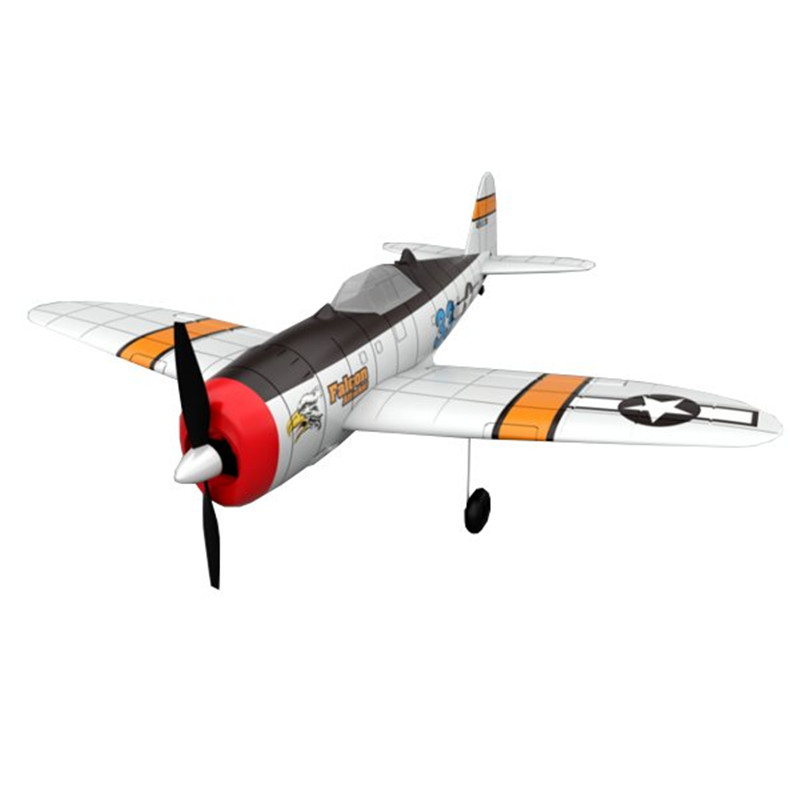P47 2.4G 4CH 6-Axis Gyro EPO Easy Flying Trainer Warbird RC Airplane RTF original jjrc h28 4ch 6 axis gyro removable arms rtf rc quadcopter with one key return headless mode drone