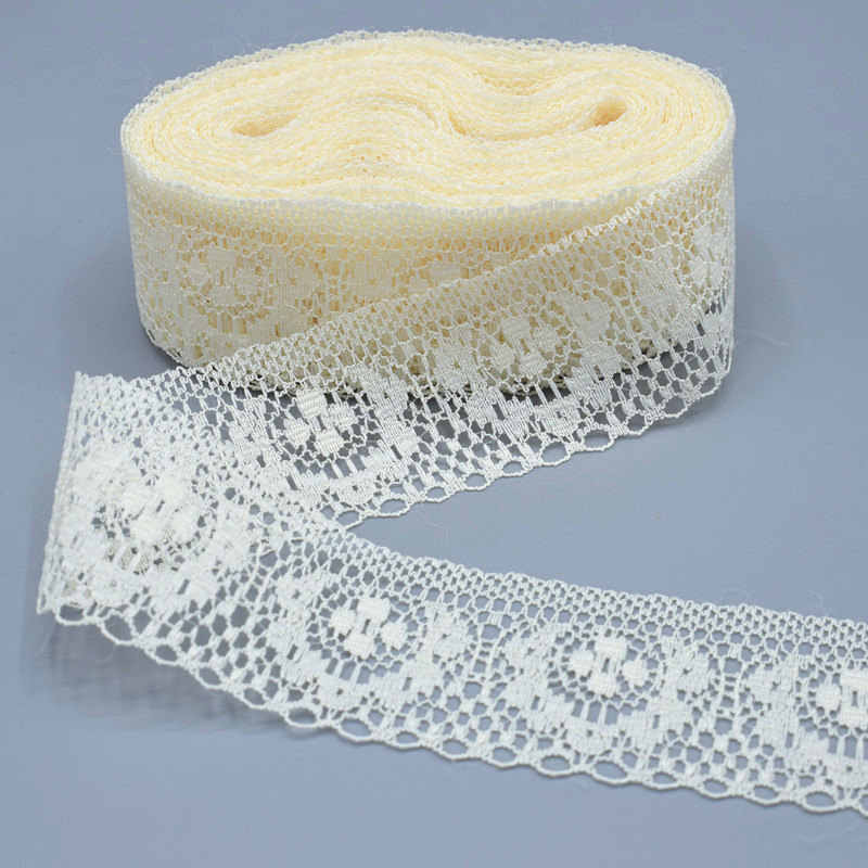 2019 bestselling beautiful 10 yards 40mm wide lace ribbon DIY handmade accessories trimming / sewing clothing