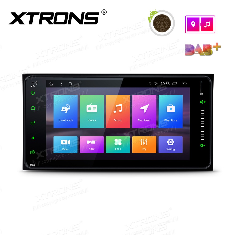 7 Android 8.1 Car Stereo Player GPS Radio for Toyota RAV4 VIos Hilux Terios Avanza Fortuner Prado 4Runner RunX No DVD