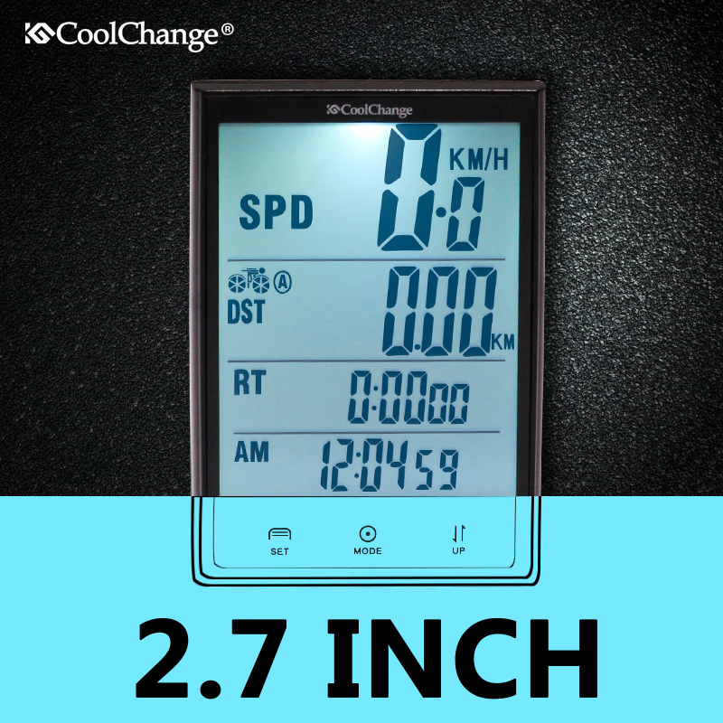 цена на CoolChang Rainproof Bicycle Computer Bike Speedometer Power Meter Cycling Computer Bicycle Meter Odometer Measurable Stopwatch
