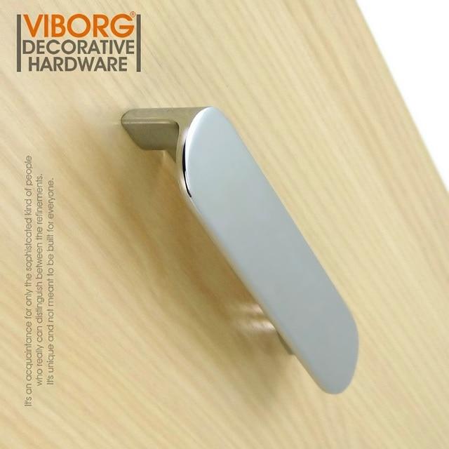 1 Piece Viborg Top Quality 128mm Zinc Alloy Super Modern Kitchen Cabinet Cupboard Door