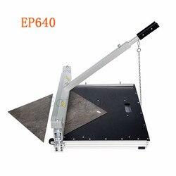EP640 LVT Asciugare di Nuovo/LVT Click pavimenti in strumenti di taglio, BateRpak del vinile pavimento taglierina manuale, tappeto macchina di taglio, in lamiera di alluminio cutter